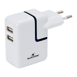 Chargeur mural 2 ports USB